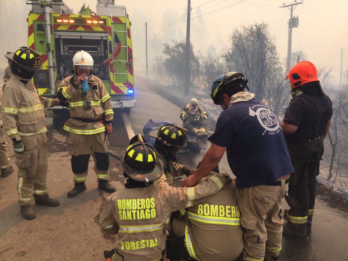 Bombero muere en incendio forestal en Empedrado