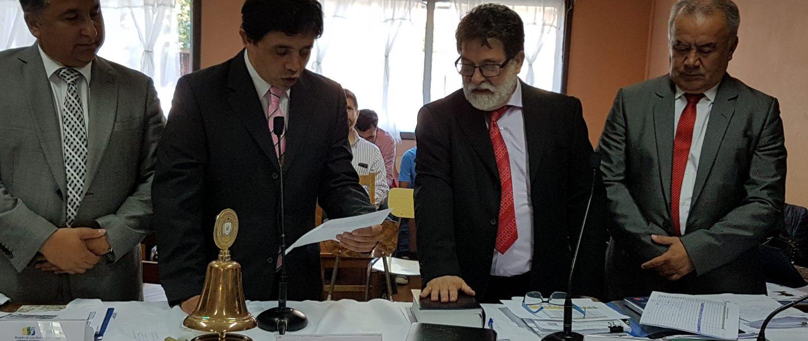 Consejero Luis Cuvertino es el nuevo Presidente del CORE Los Ríos