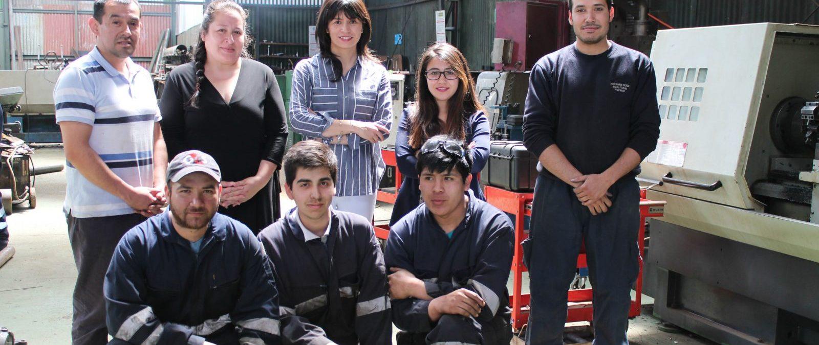 Empresarios de Los Ríos podrán contratar a jóvenes trabajadores gracias a beneficio del SENCE