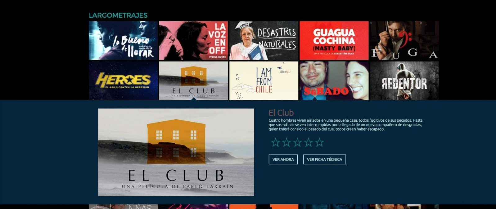 Consejo de la Cultura lanza plataforma web con catálogo gratuito de películas y documentales chilenos