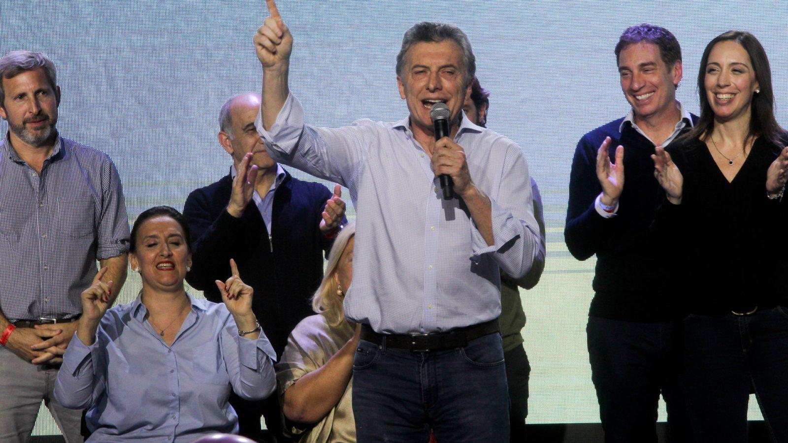 Macri triunfa en las primarias en Argentina