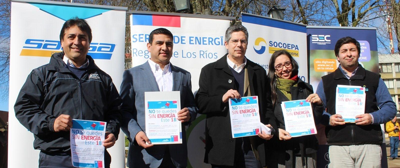 Lanzan campaña para evitar accidentes y uso ineficiente de Energía durante Fiestas Patrias