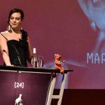 Daniela Vega y Francisco Reyes inauguraron el 24° Festival de Cine de Valdivia