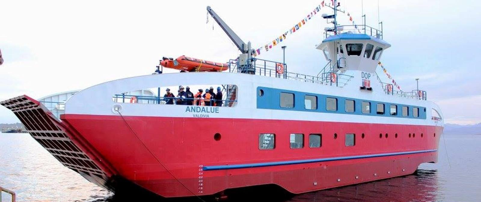 Barcazas Cullamó y Andalué trasladarán de manera gratuita a peatones para facilitar proceso eleccionario