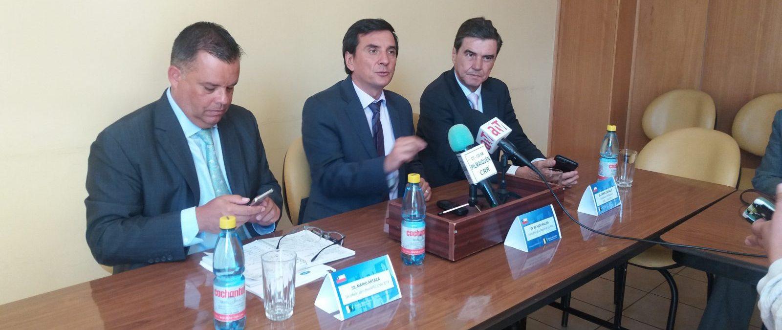 Evalúan a Los Ríos como una de las sedes de la Cumbre APEC Chile 2019