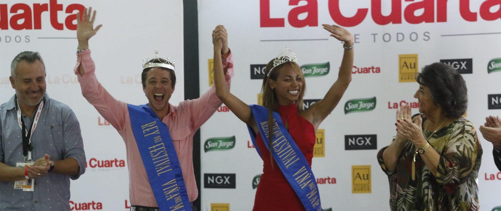 Coronación de reina y rey del Festival de Viña del Mar 2018