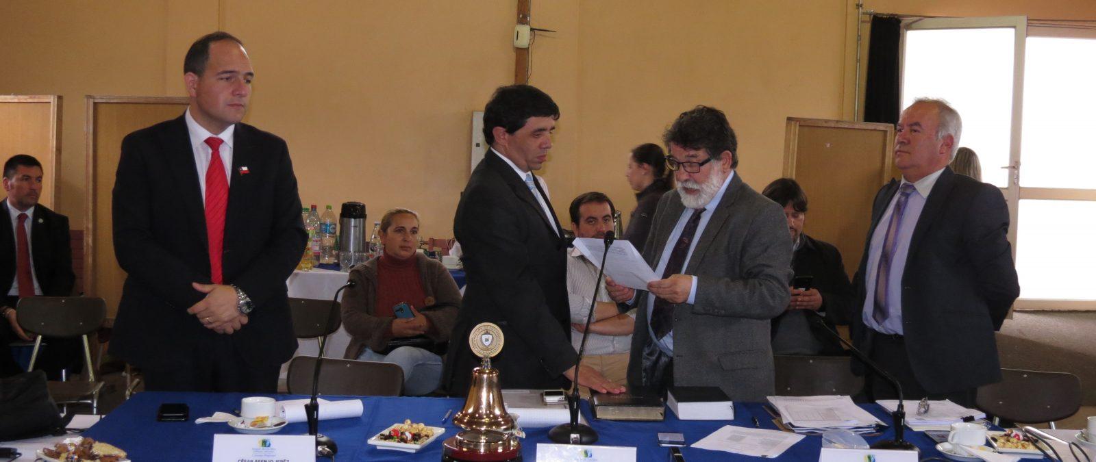 Elías Sabat es el nuevo Presidente del Consejo Regional de Los Ríos