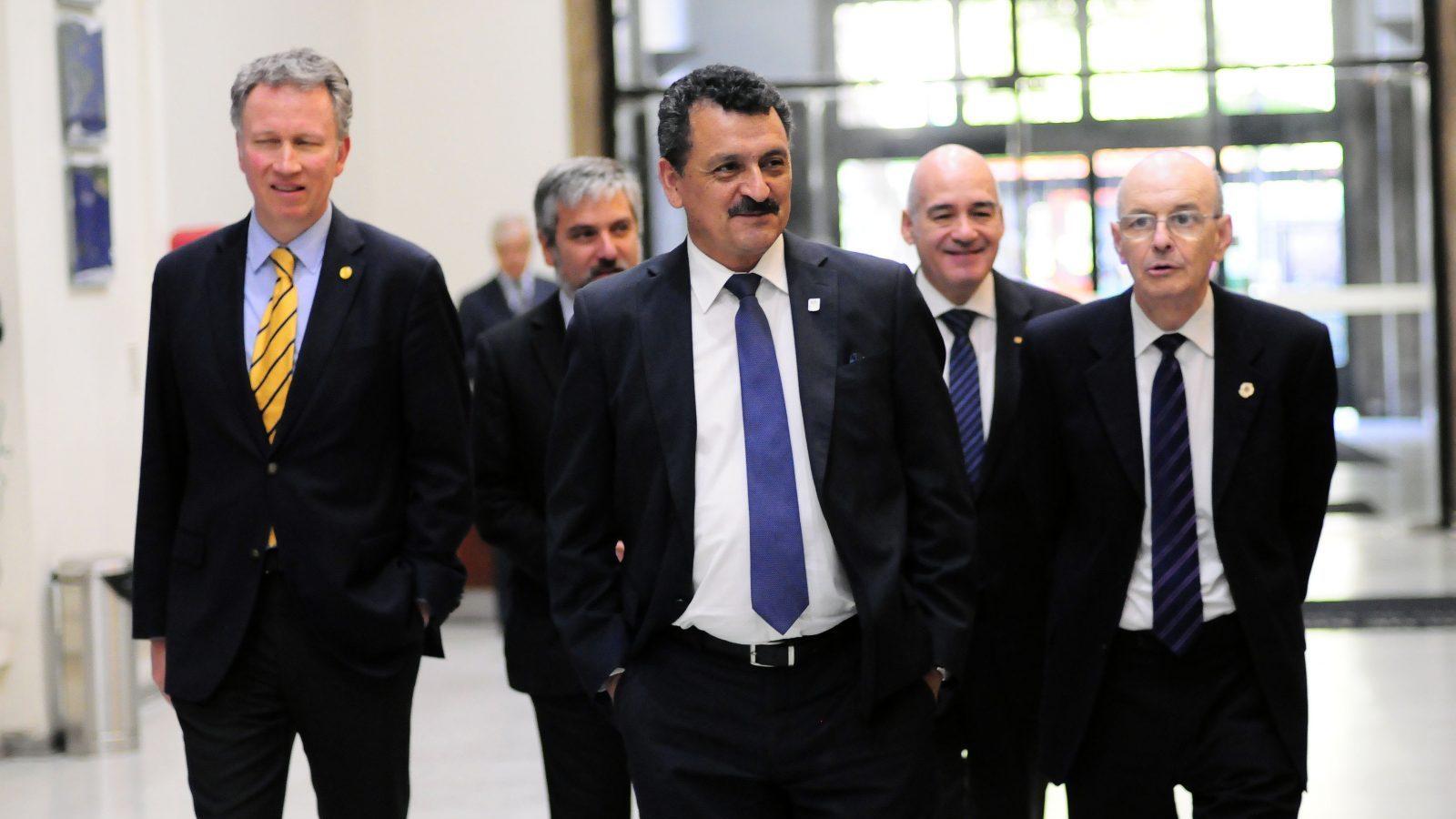 Rectores del G9 se reúnen con el ministerio de Educación