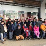 Niños atendidos en Teletón Valdivia exponen en Galería Urbana de U. Santo Tomás