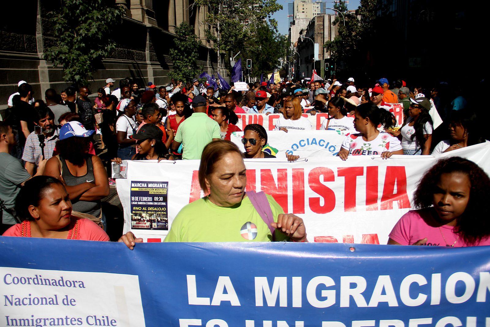 Marcha por un proceso extraordinario de regularización migratoria