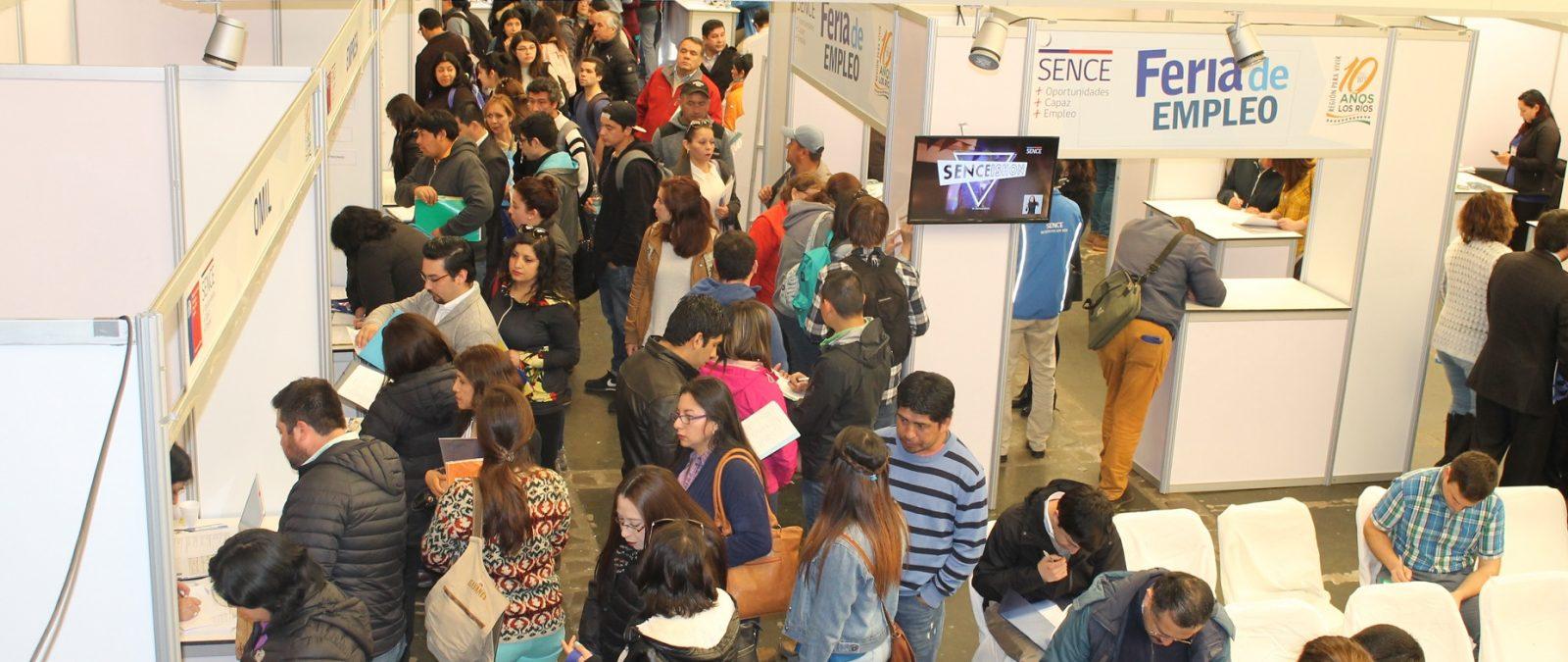 Sence prepara ferias laborales en Los Ríos con recursos del Gobierno Regional