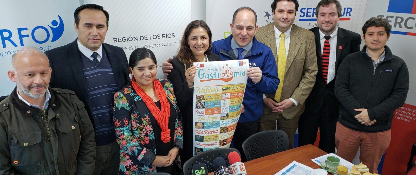 Con nutrido programa lanzan Mes de la Gastronomía en la Región de Los Ríos