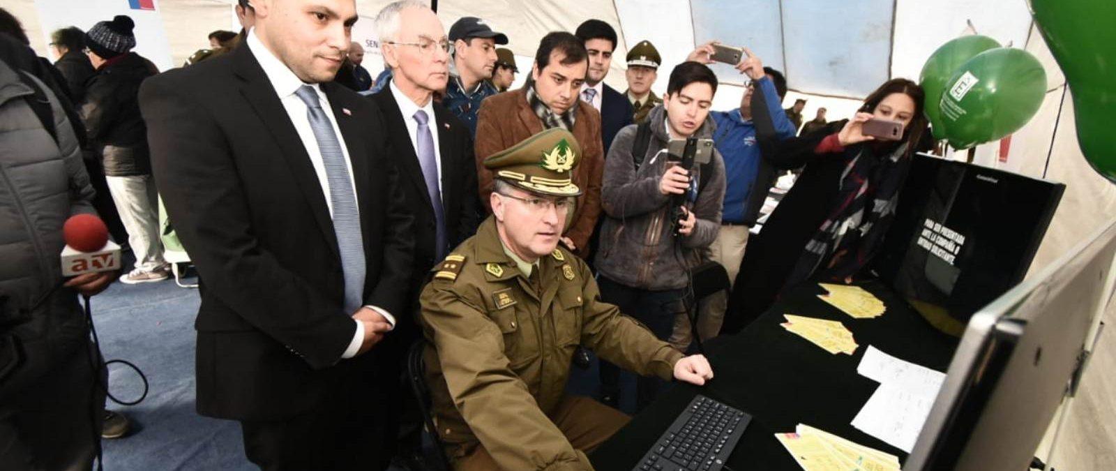 """Gobierno en Los Ríos lanzó """"Comisaría Virtual"""" que permitirá  agilizar trámites en Carabineros"""
