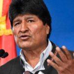 Presidente de Bolivia Evo Morales presenta su renuncia