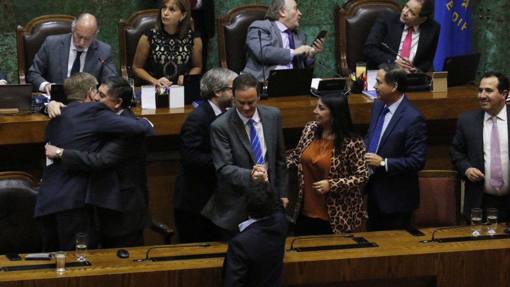 Diputados rechazan acusacion constitucional contra Presidente Piñera. 12/12/2019