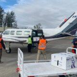 Trasladan 5.800 dosis de vacunas contra el Covid-19 desde Temuco a Valdivia
