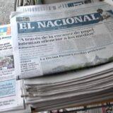 Embargan sede de diario venezolano El Nacional