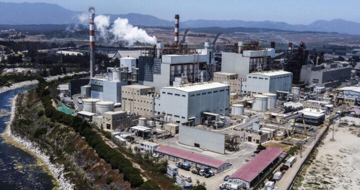 PUCHUNCAVI: Unidades I y II del complejo termoelectrico de Ventanas